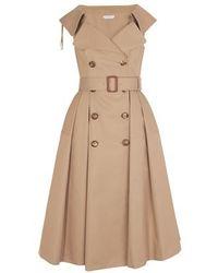 Alexander McQueen - Trench Dress - Lyst