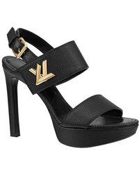 Louis Vuitton Horizon Sandal - Black