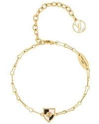 Louis Vuitton Bracelet Into Louis - Métallisé