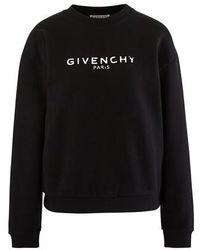 Givenchy Long Sleeve Sweatshirt - Black