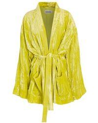 Balenciaga Pyjama Jacket - Yellow