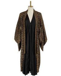 Balenciaga Kimono Dress - Natural