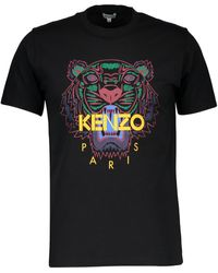 KENZO T-shirt Tigre - Noir