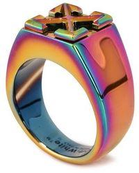 Off-White c/o Virgil Abloh Arrow Ring - Blue