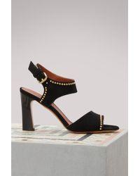Michel Vivien - Janet Studded Sandals - Lyst
