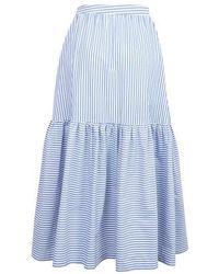 STAUD Orchid Skirt - Blue