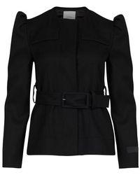 Patou Cropped Jacket - Black