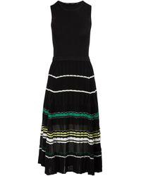 Proenza Schouler - Silk-blend Waisted Dress - Lyst