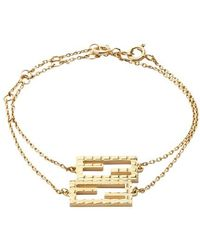 Fendi Baguette Bracelet - Metallic