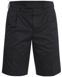 Prada Chino Shorts - Black