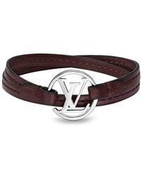 Louis Vuitton Lv Round Bracelet - Brown