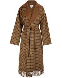 Nanushka Alamo Coat - Brown