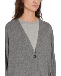 The Row Armando Cardigan In Cashmere - Grey