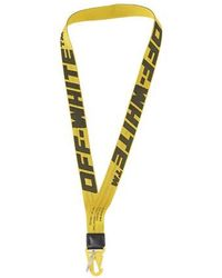 Off-White c/o Virgil Abloh Porte-clés 2.0 Industrial Necklace - Jaune
