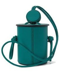 Yuzefi Cubito Mini Bucket Bag - Green