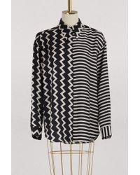 Stella McCartney - Mila Silk Shirt - Lyst