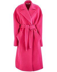 Balenciaga Trench Coat - Pink