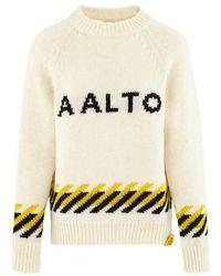 AALTO Logo Crew-neck Jumper - Multicolour