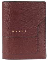 Marni Vanitosi Wallet - Purple