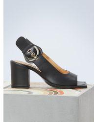 AALTO - Chuky High-heeled Sandals - Lyst