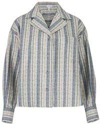 Loewe Oversized Shirt Anagram - Grey