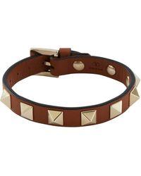 Valentino - Gavarani Rockstud Bracelet - Lyst