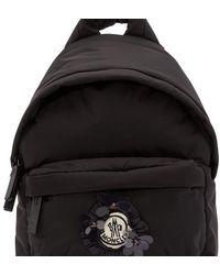 Moncler Genius Moncler X Simone Rocha - Logo Backpack - Black