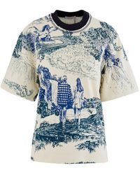 Chloé Printed T-shirt - Blue