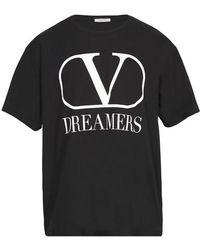 Valentino Vlogo Dreamers T-shirt - Black