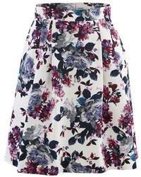Erdem Ashanna Skirt - Blue