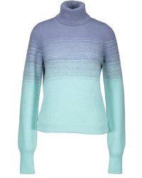 Dries Van Noten Wool And Alpaca Wool Sweatshirt - Blue