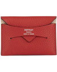 Moynat Enveloppe Card-holder - Red