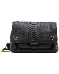 Jérôme Dreyfuss Lulu Medium Crossbody Bag - Black