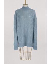 Jil Sander - Mohair And Silk Sweater - Lyst