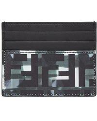 Fendi Card Holder - Metallic