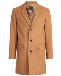 A.P.C. Visconti Coat - Natural