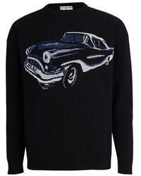 Givenchy Pullover logo allover - Noir