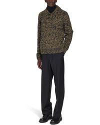 Dries Van Noten Polo Collar Knitwear - Green