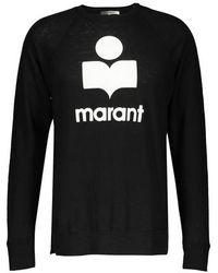 Isabel Marant T-shirt Kieffer Manches Longues - Noir