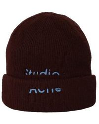 Acne Studios Kreed Beanie - Red