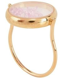 Aurelie Bidermann Chivor Ring Ruby - Pink