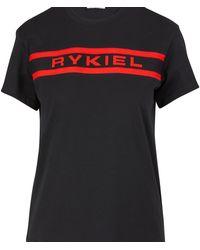 Sonia Rykiel Logo T-shirt - Black