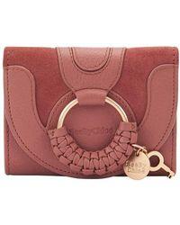 See By Chloé Hana Compact Wallet - Multicolour
