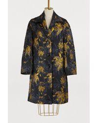 Dries Van Noten Jaquard Coat - Black