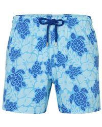 Vilebrequin Moorise Swimming Shorts - Blue
