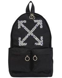 Off-White c/o Virgil Abloh Airport Tape Backpack - Black