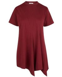 JW Anderson Paneled T-shirt - Red