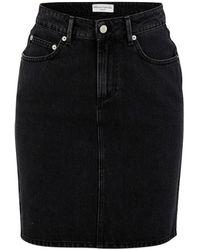 Officine Generale Isabela Skirt - Black