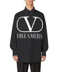 Valentino Chemise V Dreamers - Noir
