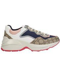 Gucci - Rhyton Sneakers - Lyst